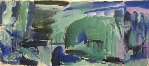 avington water no.1 by ivon hitchens