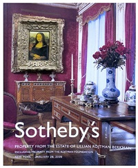 sotheby's series by nelson leirner