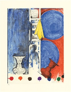 recent selections from ulae by jasper johns