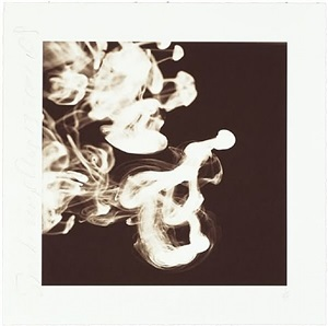 smoke rings, aug 13, 2001 by donald sultan
