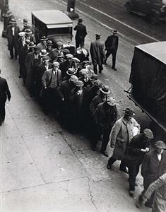 bread line, new york city by g.a. douglas