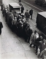 bread line, new york city by g.a. douglas