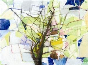 elm tree, early spring by su-li hung