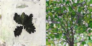 white oak, mid-august by su-li hung