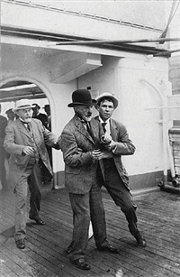 new york mayor william j. gaynor moments after the assassination by william warnecke
