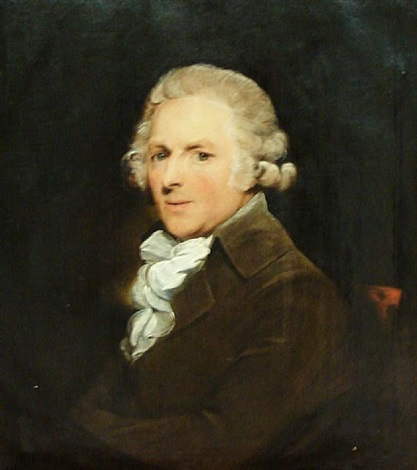 portrait of sir edward hoare of annabella, co. cork by gilbert stuart