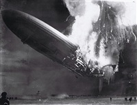 the hindenburg disaster by acme newspictures