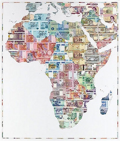 money map of africa by justine smith