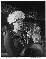 ella fitzgerald, nyc, 52 street, three deuces by william gottlieb