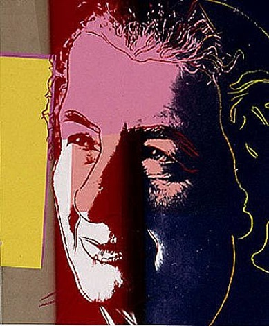 golda meir (from the ten portraits of jews portfolio) by andy warhol