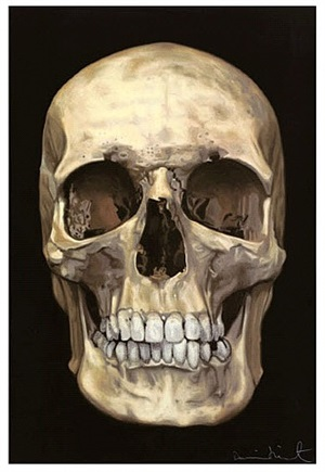 the new religion: the skull beneath the skin by damien hirst