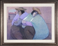 two women resting by ernesto gutierrez