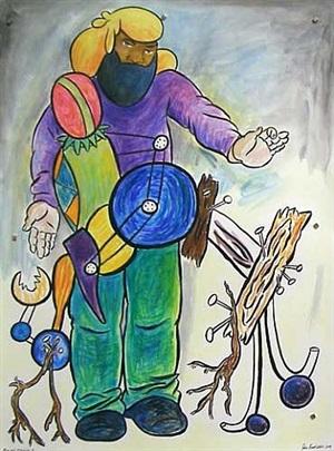 man and machine 1 by john bankston