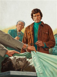 detective in the morgue by bruce minney