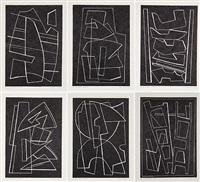 la magnanerie de la ferrage (black) by alberto magnelli