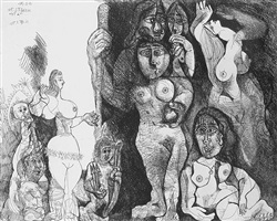 picasso's theater: eros and women by pablo picasso