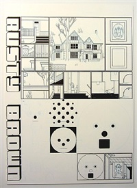 from the acme novelty library #20: jordan lint, age 0 and 0. (house and birth.) by chris ware