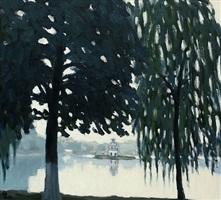 hoan kiem lake, by pham luan