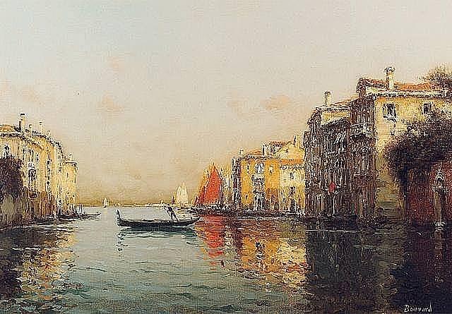 the grand canal, venice by antoine bouvard