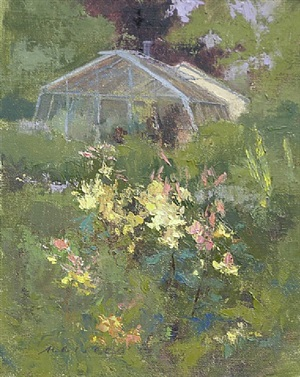 lily garden greenhouse by barbara maiser