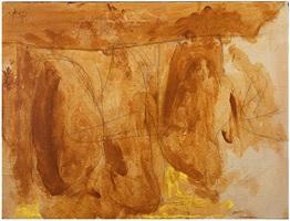 hollow men study (trio iii) by robert motherwell