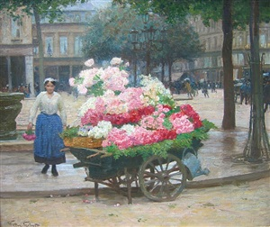 the flower seller by victor gabriel gilbert