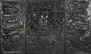the sun god (the soul of the sunflower) by elihu vedder
