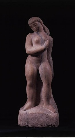young woman by william zorach