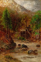 old mill by ralph albert blakelock