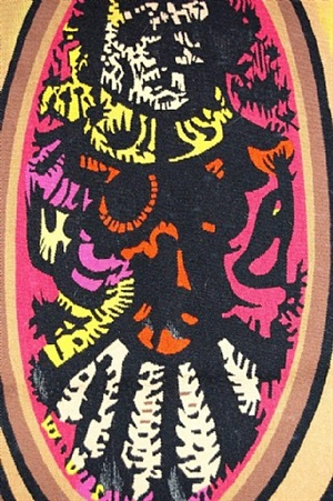 miror demon (detail) by edgar louis ewing