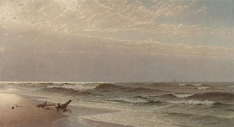 peaceful shore by william trost richards