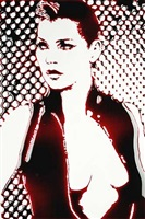 kate (blood) by vik muniz