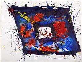 untitled (bern) sf78-172 by sam francis