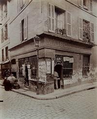 cabaret, rue mouffetard by eugène atget