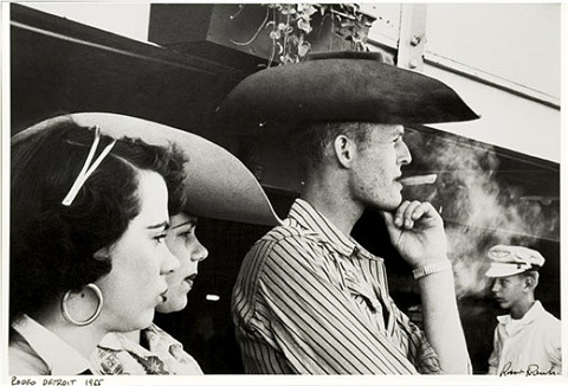 rodeo, detroit by robert frank