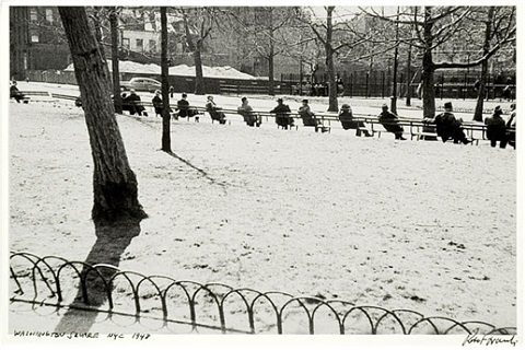 washington square, nyc by robert frank
