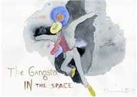the gangster in the space by pavel pepperstein