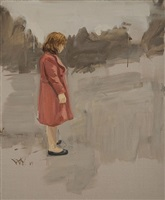 red coat by gideon rubin