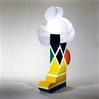 light sculpture by guy de rougemont