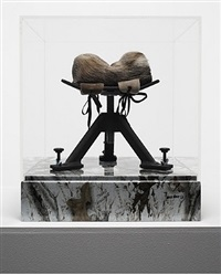 untitled (rifle rest) by robert beck