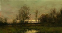fall breezes (sold) by dennis sheehan