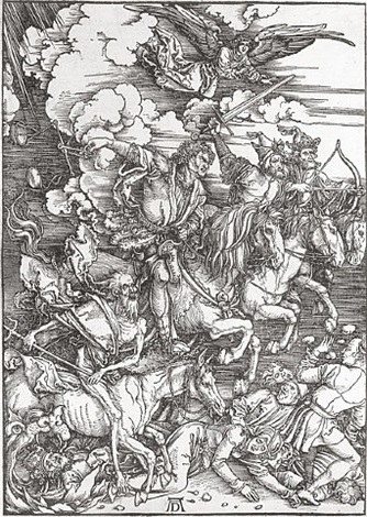 the four horseman by albrecht dürer