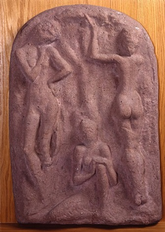 three women by wilhelm lehmbruck