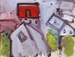 landscape with houses by robert de niro, sr.