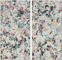 untitled (diptych) by dan rees
