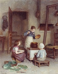 the young cook by pierre edouard frère