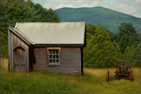 vermont shed by peter bergeron