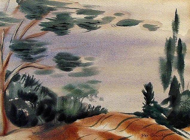 dune shadows by rex brandt