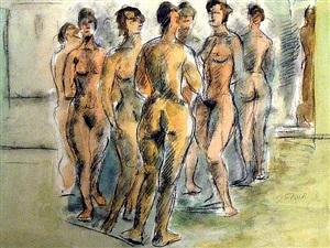 seven women by joseph floch