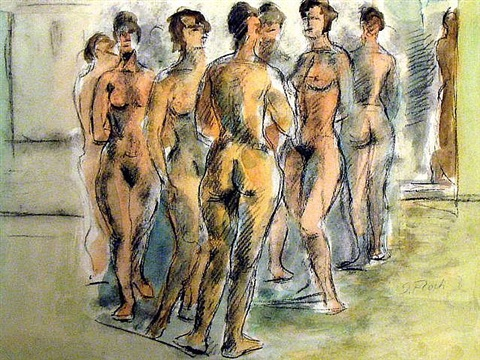 seven women by joseph floch